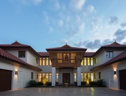 India Inspired Custom Home